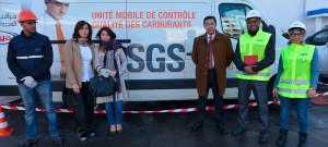 UN LABORATOIRE MOBILE DE CONTRÔLE QUALITÉ DES CARBURANTS VOIT LE JOUR