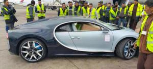 Une Bugatti Chiron débarque au Maroc !
