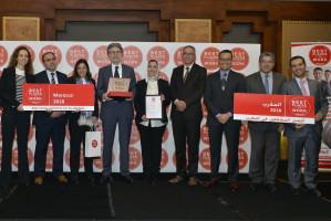 Vivo Energy Maroc élu Meilleur Employeur 2018