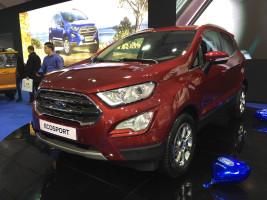L'Ecosport de Ford fait sensation au salon Auto-Expo de Casablanca