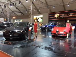 Le Jeep®Nouveau Compass et le nouveau Alpha Romeo Stelvio à l'Auto Expo 2018!