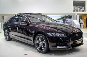 Jaguar XF Luxury Black Edition à l'Auto Expo, audacieuse et exceptionnelle!
