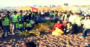 Volvo Maroc se mobilise pour une plage plus propre !