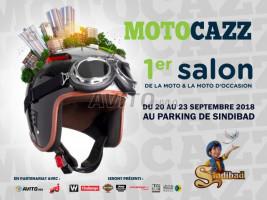 1ère édition du Salon Motocazz : du 20 au 23 septembre 2018 à Sindibad