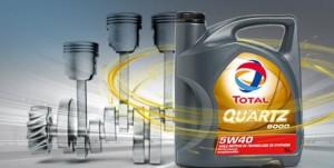 Voyez comment les huiles Total Quartz rendent votre moteur plus puissant !