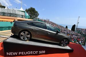 PEUGEOT au tournoi de tennis de Monte-Carlo