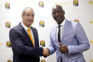 Continental sponsor officiel pneumatiques de la Coupe d'Afrique des Nations jusqu'en 2023