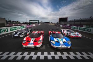 Ford célèbre l'histoire des 24 H du Mans avec des livrées spéciales pour ses GT