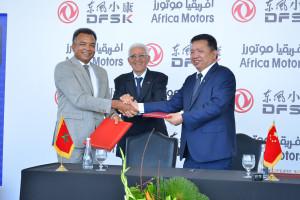 Africa Motors renforce son partenariat avec DFSK !