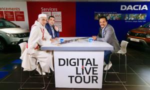 Le Digital Live Tour by Renault et Dacia !