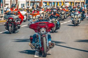 Parade haute en couleurs de Harley-Davidson à Casablanca !