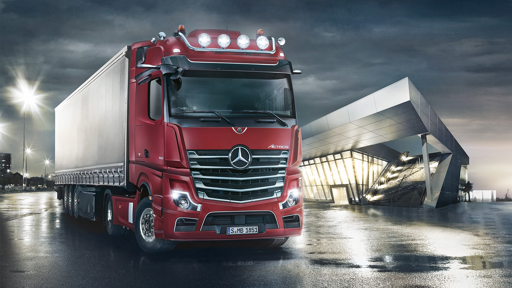 L'ACTROS 5 désigné « Truck of the Year 2020 » - Marokoto