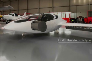 Bientôt un Lilium Jet volant à 300 km/h !