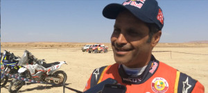 Nacer Al Attiyah, vainqueur du Rallye OiLibya 2017