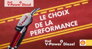 Shell V-Power Diesel, le carburant premium qui nettoie votre moteur