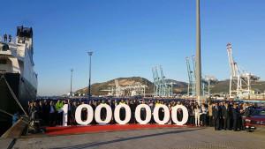 Le groupe Renault exporte son millionième véhicule depuis Tanger Med