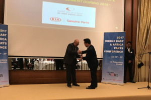 Kia Motors Bin Omeir Group remporte le Trophée de mérite dans la « Parts Operation & Facility Enhancement »